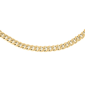 "14K Gold / 16"" Miami Cuban Link Necklace 14K - Adina's Jewels"