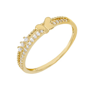 Gold / 6 Butterfly Ring - Adina's Jewels