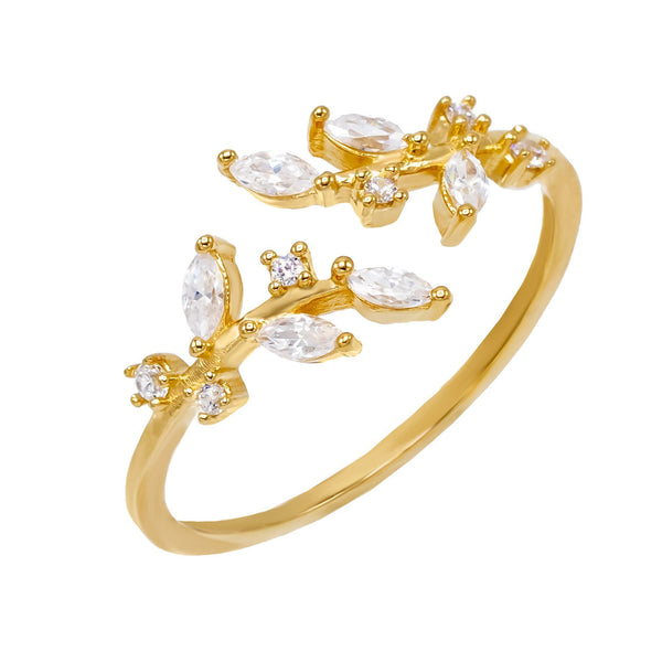 Diamond Shape CZ Ring - Adina's Jewels