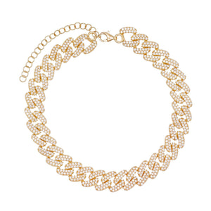 Chain Link Anklet - Adina's Jewels
