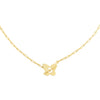 Gold Open Butterfly Toggle Link Necklace - Adina's Jewels