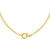 Gold Toggle Cuban Chain Necklace - Adina's Jewels