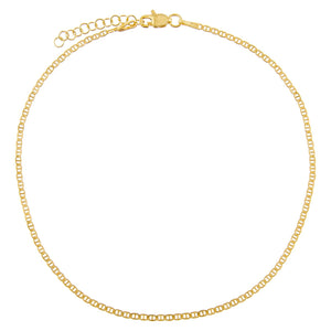 Gold Baby Gucci Anklet - Adina's Jewels
