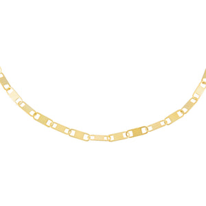 Gold Interlocked Link Necklace - Adina's Jewels