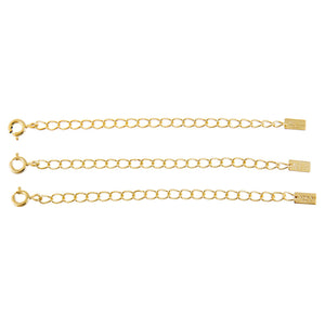 Gold Necklace Extender Set - Adina's Jewels