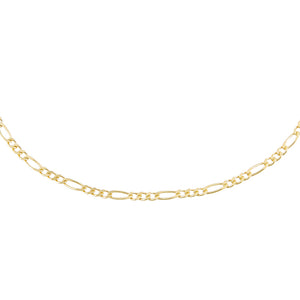 Gold Figaro Choker - Adina's Jewels