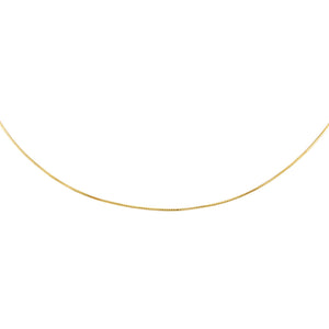 "Gold / 16"" Snake Thin Chain Necklace - Adina's Jewels"