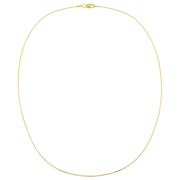 Snake Thin Chain Necklace - Adina's Jewels
