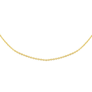 Gold Rolo Chain Choker - Adina's Jewels