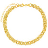 Hollow Rounded Rolo Chain Choker - Adina's Jewels