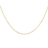 14K Gold Thin Interlocked Link Necklace 14K - Adina's Jewels