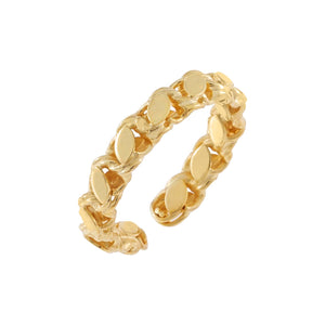 Gold Harem Chain Ring - Adina's Jewels