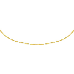 Gold Singapore Choker - Adina's Jewels