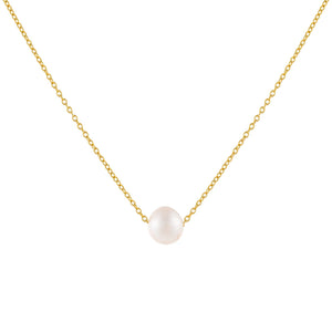 Pearl White Pearl Necklace - Adina's Jewels