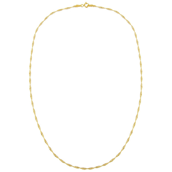 Singapore Chain Necklace - Adina's Jewels