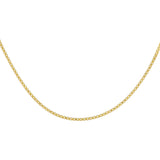 Gold Box Chain Necklace - Adina's Jewels