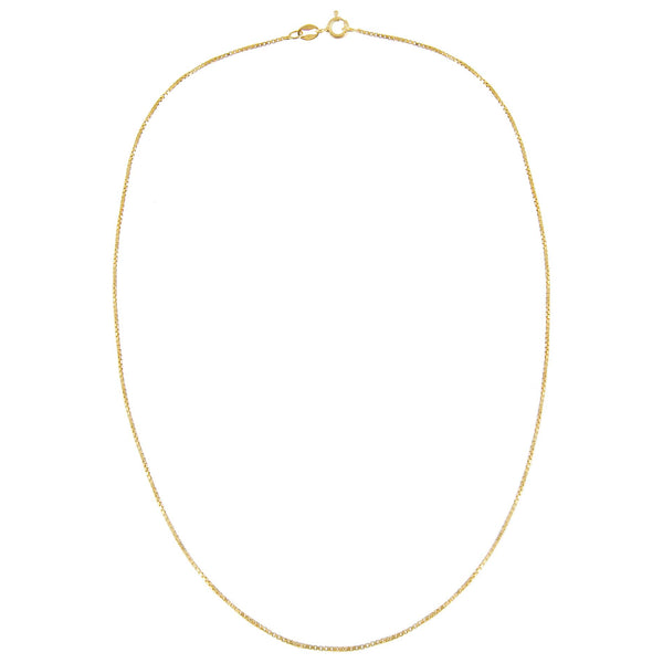 Box Chain Necklace - Adina's Jewels