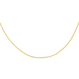 Gold Baby Rolo Chain Necklace - Adina's Jewels