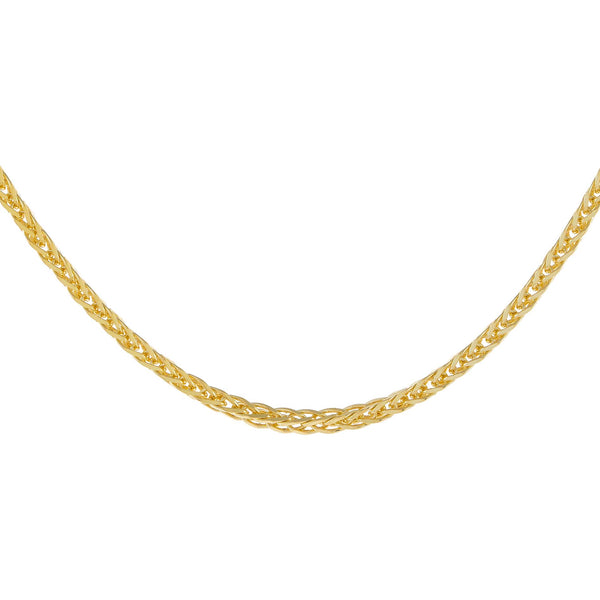 Gold Thin Franco Chain Necklace - Adina's Jewels
