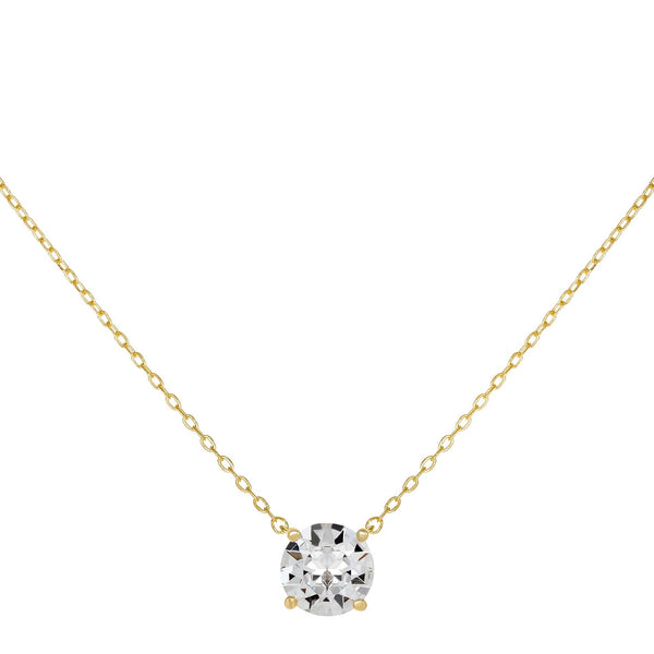 Gold Crystal Juliette Necklace - Adina's Jewels