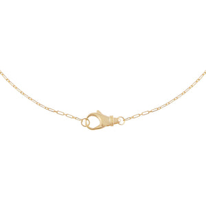 Gold Small Clasp Link Necklace - Adina's Jewels