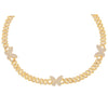 Gold Pavé Butterfly Chain Link Choker - Adina's Jewels
