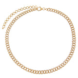 Diamond Cuban Chain Choker 14K - Adina's Jewels