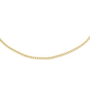 Gold Cuban Choker - Adina's Jewels