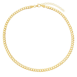 Cuban Chain Necklace  - Adina's Jewels