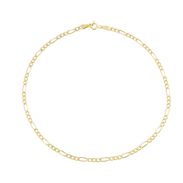 Figaro Anklet Gold - Adina's Jewels