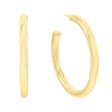 Gold / 50 MM Large Hollow Hoop Earring - Adina's Jewels