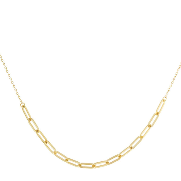 Link Chain Necklace Gold - Adina's Jewels