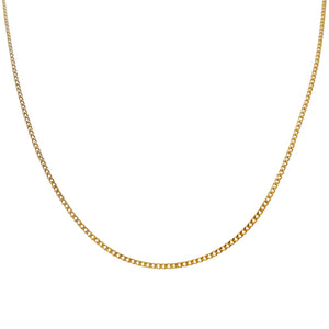 Gold Baby Cuban Necklace - Adina's Jewels