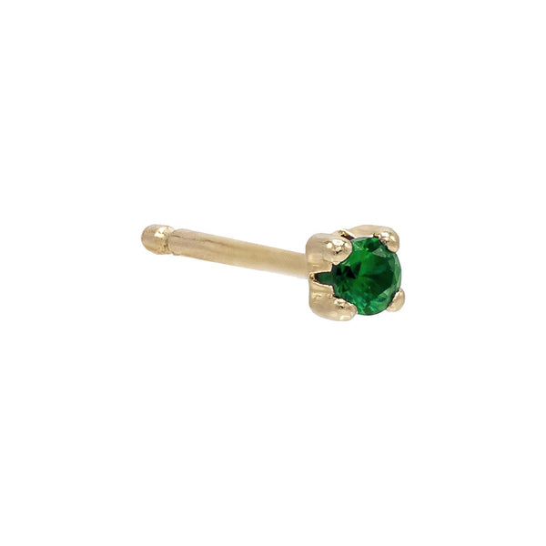 Mini CZ Stud Earring 14K - Adina's Jewels
