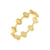 Gold / 5 Multi Oval Beaded Ring - Adina's Jewels