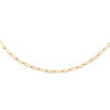 "Gold / 3 MM / 15"" Oval Link Necklace - Adina's Jewels"