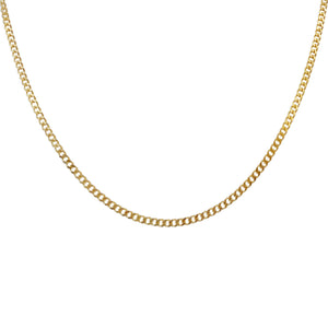 Cuban Chain Necklace Gold - Adina's Jewels