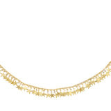 Dangling Star Necklace Gold - Adina's Jewels