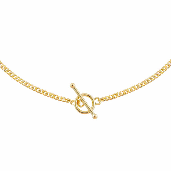 Gold Toggle Chain Necklace - Adina's Jewels