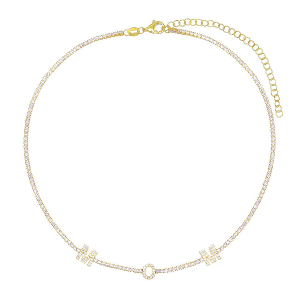 Mom Tennis Choker - Adina's Jewels