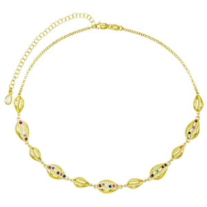 Multi Shell Choker  - Adina's Jewels