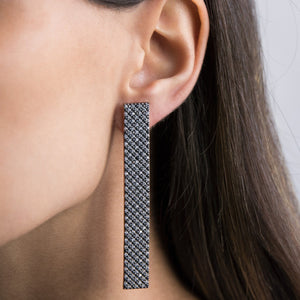Long Bar Stud Earring - Adina's Jewels