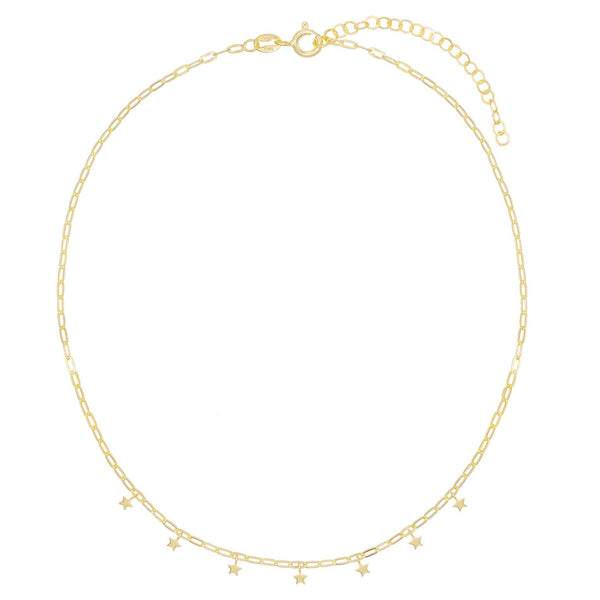 Mini Star Link Choker - Adina's Jewels