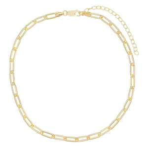 Oval Link Necklace  - Adina's Jewels