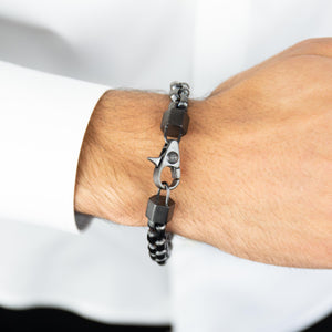Steel Box Link Bracelet - Adina's Jewels