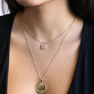 Goddess Coin Necklace - Adina's Jewels