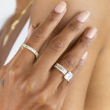 Baguette Wrap Ring - Adina's Jewels