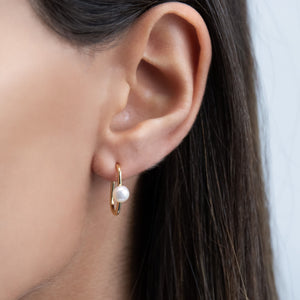 Hook Stud Earring - Adina's Jewels