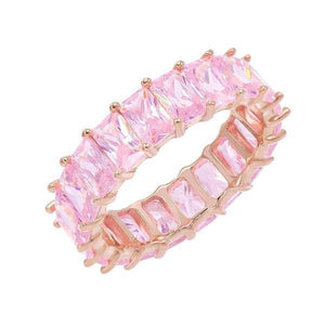 Pastel Colored Band Light Pink / 9 - Adina's Jewels