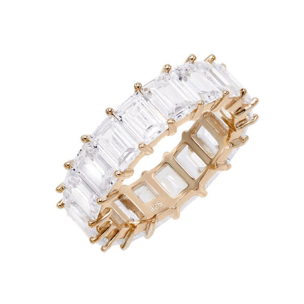 Baguette Eternity Band  - Adina's Jewels